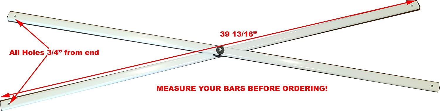 for Crown Shade 10x10 Straight Leg Canopy 39 13//16 Middle Truss Bar Replace...