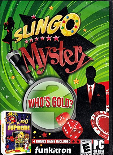 Slingo Mystery: Who's Gold? - PC ()
