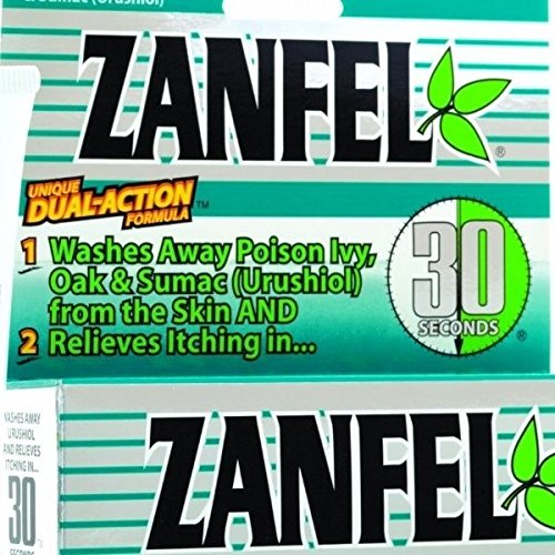 Zanfel Poison Ivy, Oak and Sumac Wash 1 OZ - Buy Packs and SAVE (Pack of 3)