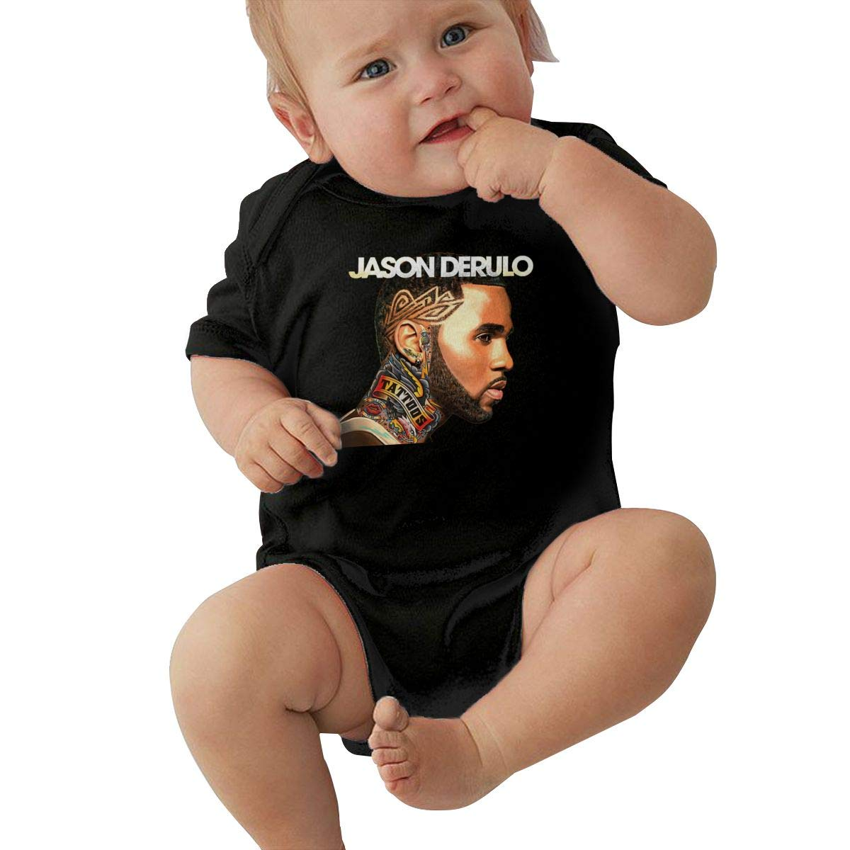 SusanHuling Jason Derulo Unisex Baby Boys Girls Romper Bodysuit Infant Funny Jumpsuit