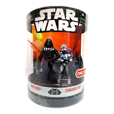 Star Wars Order 66 Exclusive 2 Pack 3 of 6 Darth Vader Commander Bow: Toys & Games