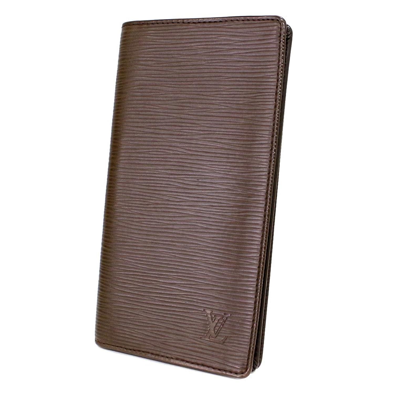 LOUIS VUITTON(ルイヴィトン) エピ ポルトカルトクレディ 二つ折り札入れ M63213 ダーク系 チョコレート 財布 札入れ エピレザー 財布(中古) B075CJTDZX