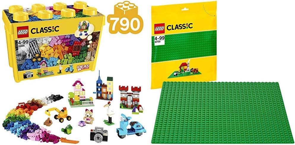 LEGO Classic 10700 Base Gioco di Costruzioni Verde
