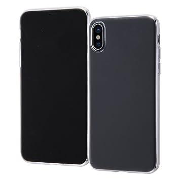 74ad3aac37 Amazon | レイ・アウト iPhone X ケース ソフト TPU 極薄 クリア RT ...