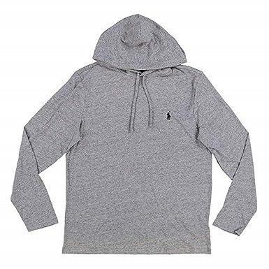 d590127b91fd6 Polo Ralph Lauren Mens Jersey Knit Hoodie Tee at Amazon Men s ...