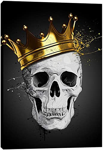 Cortesi Home Royal Skull Giclee Canvas Wall Art