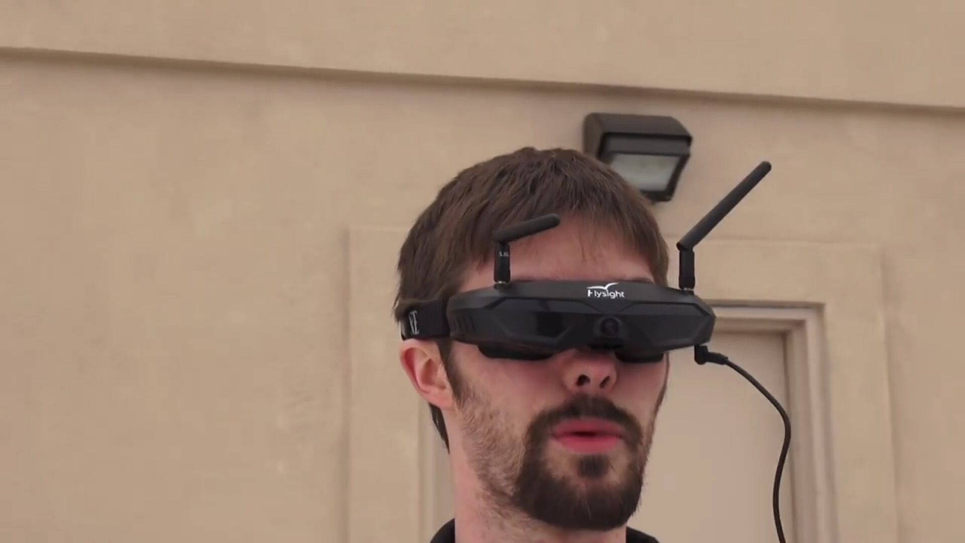 Flysight 40CH FPV Goggles With HDMI In and PIP Function (SPX02 SMA ANT)