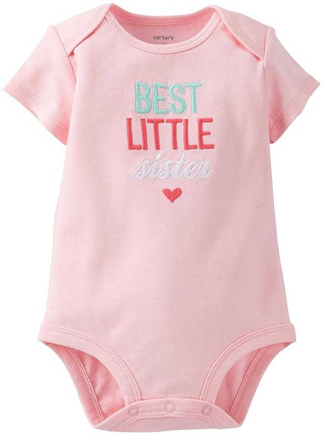 Amazon.com: De Carter bebé Niñas Slogan Body (Baby), 6 meses ...