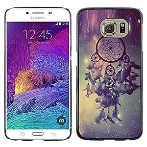 iKiki Tech / Estuche rígido - Dream Catcher Stars Sky Night Light - Samsung Galaxy S6 SM-G920