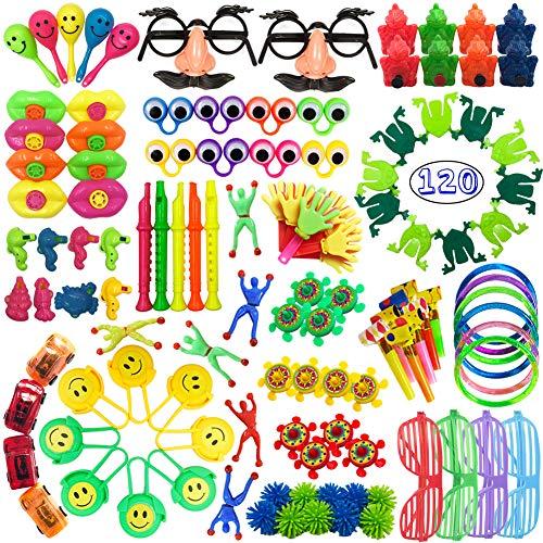 120 PCS Party Favors Toy Assortment for Kids