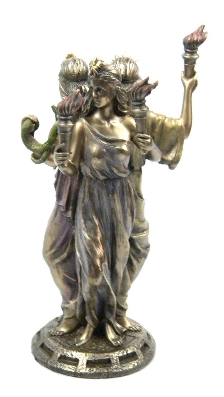 Veronese (ヴェロネーゼ) ヘカテー ヘカテ 女神 ブードゥー教 ブロンズ風 フィギュア B071HWNZYL