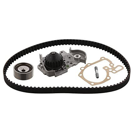 Amazon.com: Water Pump Timing Belt Kit FEBI For RENAULT DACIA Clio II Kangoo 7701472725: Automotive