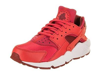 ec140d4c4616 Nike - WMNS Air Huarache Run Red - Sneakers Woman  Amazon.de  Schuhe ...