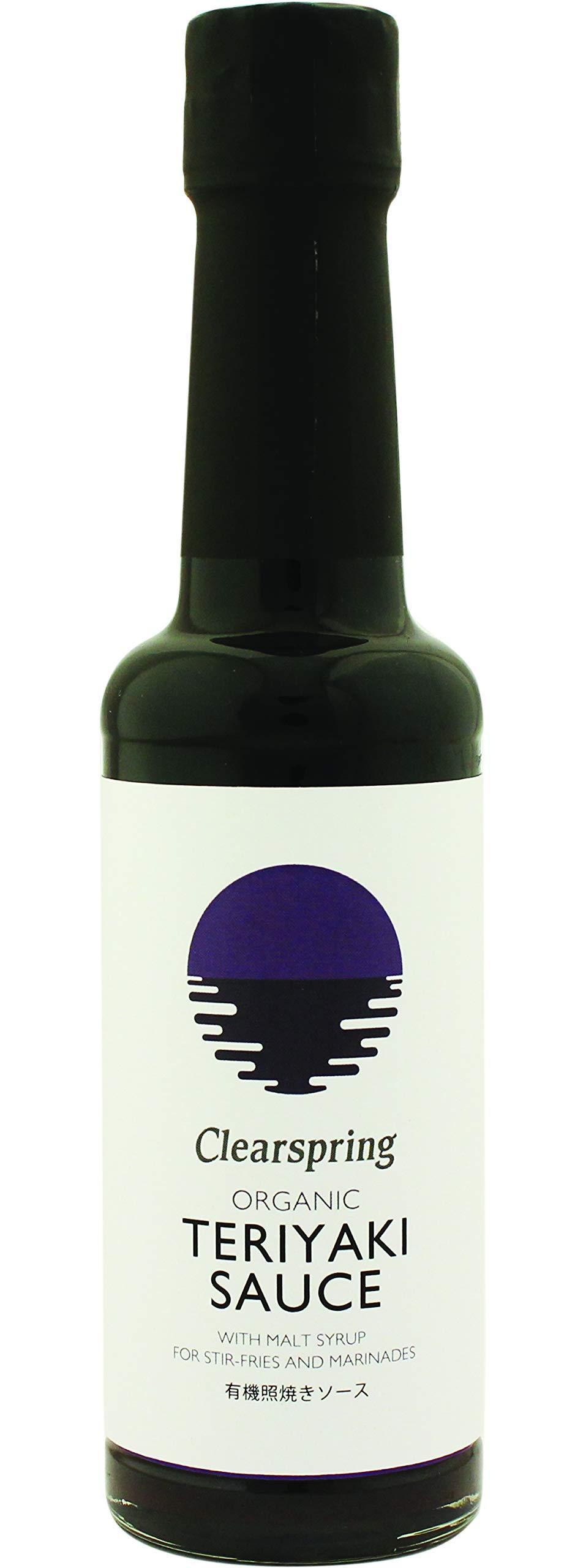Clearspring Organic Teriyaki Sauce (150ml) - Pack of 6