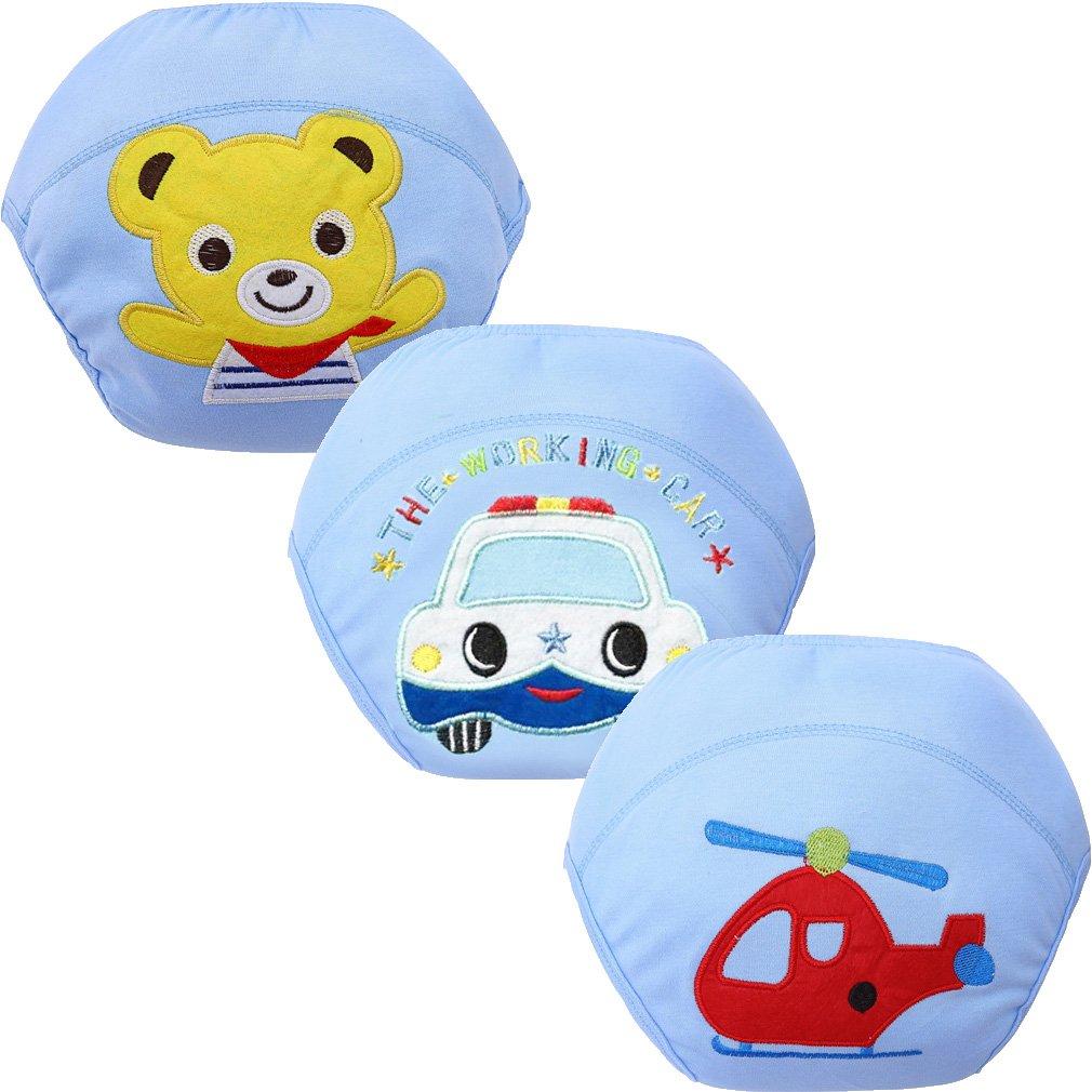 JT-Amigo 3er Pack Baby Jungen Lernwindel Trainerhosen Unterwäsche zum Sauberwerden Gr. 80 KidsUnderwear009-80