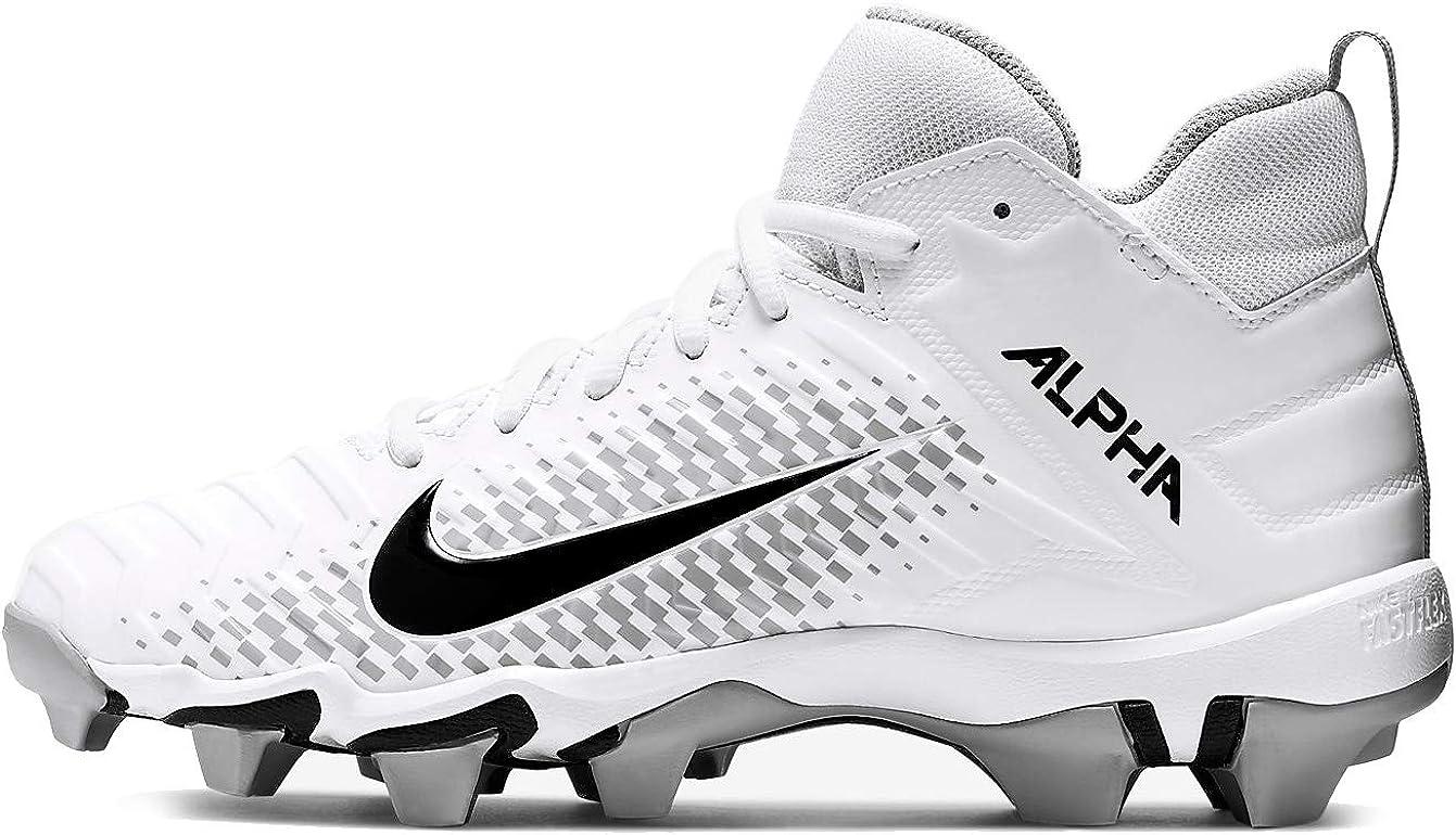 Nike Alpha Menace Shark 2 Big/Little Kids Football Cleat Aq7654-100
