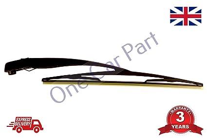 Brazo del limpiaparabrisas trasero y escobilla 406 mm para Corsa C/Combo 2000-2010