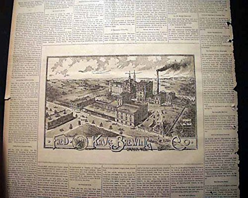 best-frederick-krug-brewing-company-omaha-nebraska-w-prints-1893-newspaper-omaha-daily-bee-nebraska-