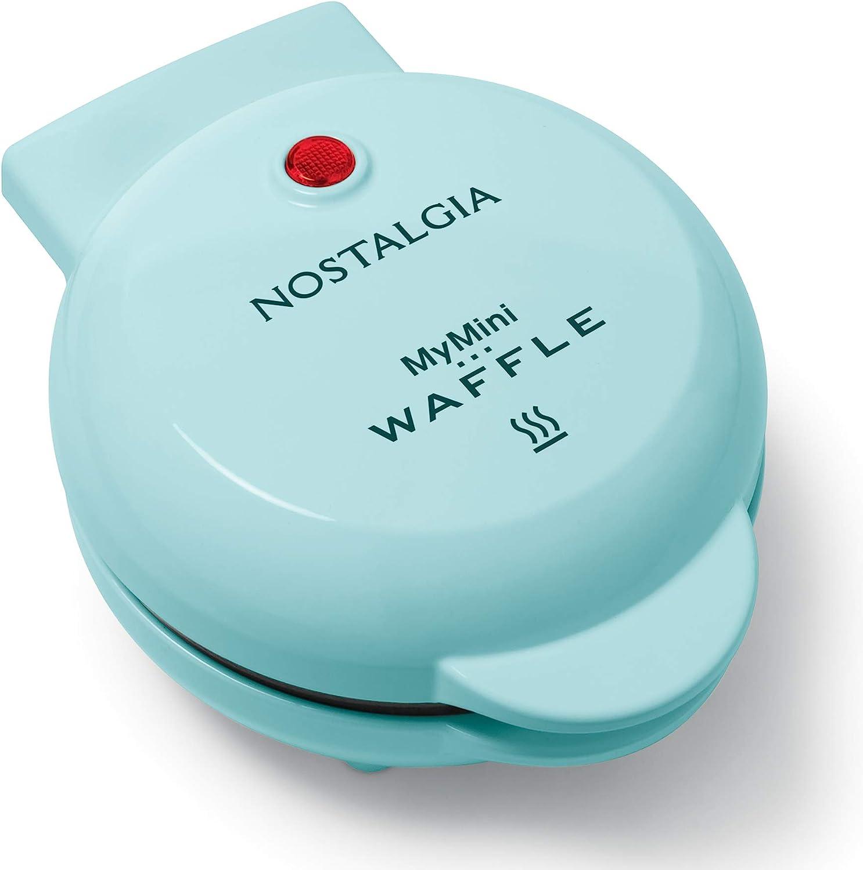 Nostalgia MWF5AQ My Mini Personal Electric Waffle Maker