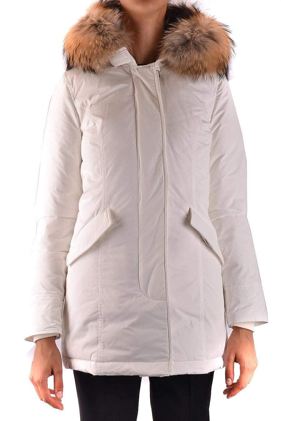 Wwcps2604cf408270 Femme Blanc Woolrich Manteau Polyamide wPUxqvp
