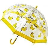 Bugzz – Parapluie transparent pour enfant – Modèle Canard