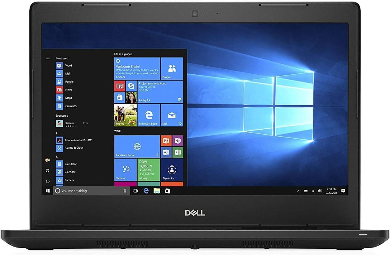 Fast Dell Latitude 5480 HD Business Laptop Notebook PC (Intel Core i7-6600U, 8GB Ram, 512GB Solid State SSD, HDMI, Camera, WiFi) Win 10 Pro (Renewed)
