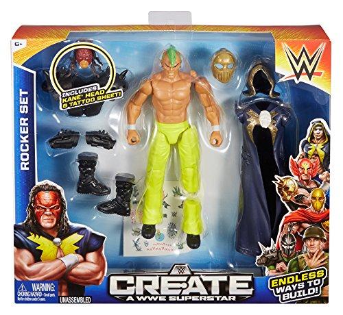Create a WWE Superstar Kane Rocker Pack by Mattel