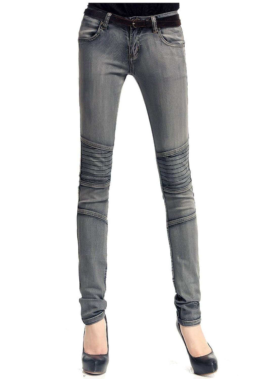 33Malls Women's Denim Low Waist Jeans