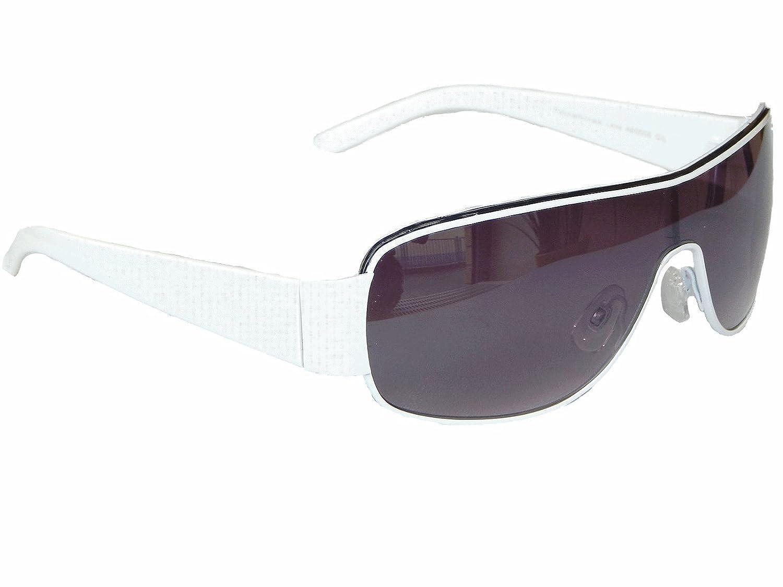 Coole Sonnenbrille Aviator Brille Monoglas Sportlicher Style Damen Herren M 5 (Schwarz Rot) 9zGVj9RV