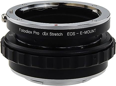Fotodiox DLX Stretch – Adaptador para Objetivo Canon EOS (EF/EF-S ...