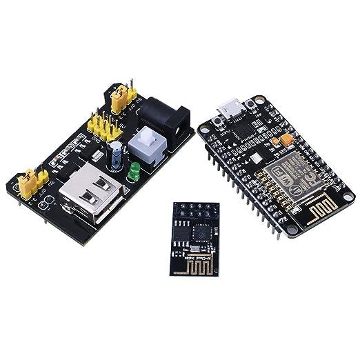 2 opinioni per For Arduino , Kuman NodeMCU LUA WiFi Internet ESP8266 Serial Development board +