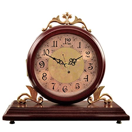X-HH Reloj de Mesa, Reloj de Mesa Sala de Estar Decoración ...
