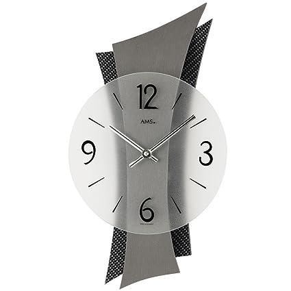 AMS 9400 - Orologio da parete al quarzo, design moderno, con ...