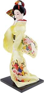 Baosity Japanese Geisha Kimono Doll Ladies Decor Furnishings Japanese Dolls Decoration Historical Figure - #12