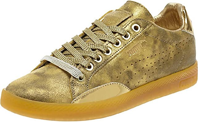 Amazon Com Puma Match Lo Gold Sneakers Fashion Sneakers
