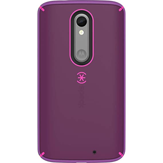 Speck Mighty Shell Cell Phone Case for MOTOROLA Droid Turbo 2 - Shocking Pink