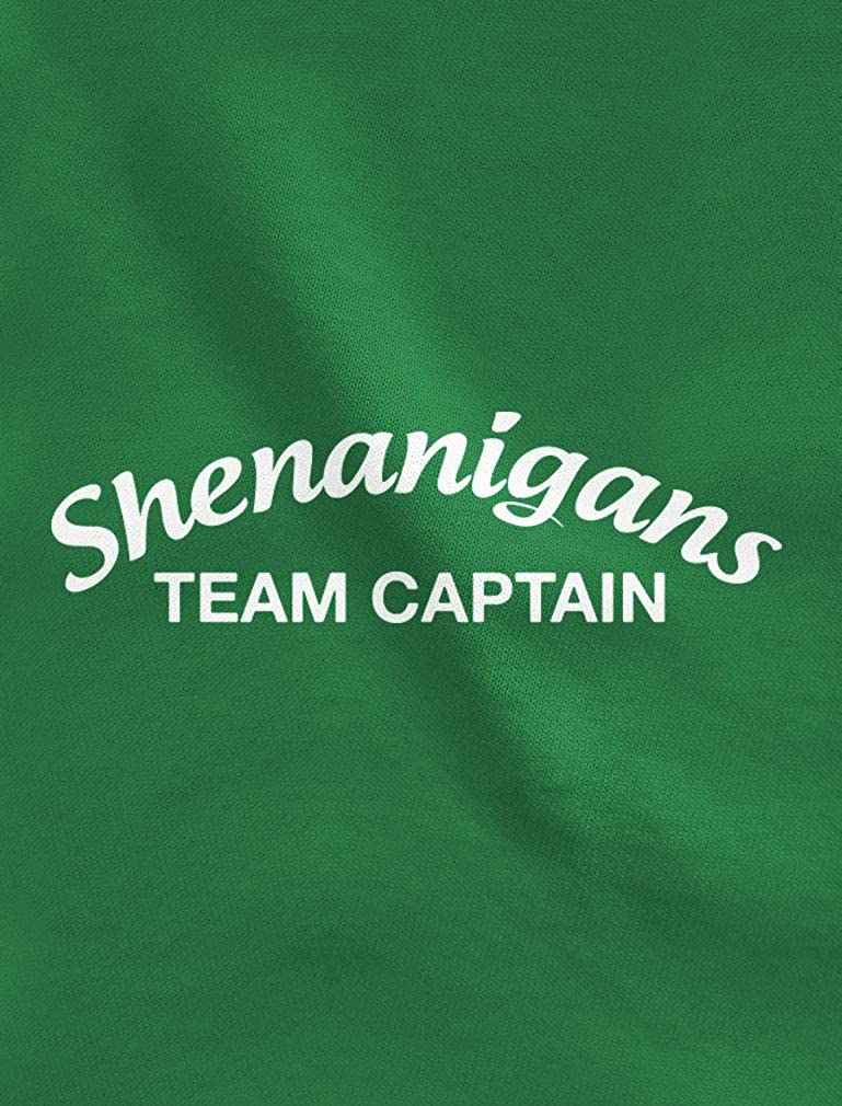 Irish Shenanigans Team Captain Saint Patrick Toddler//Kids Long Sleeve T-Shirt