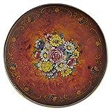Design Toscano Floral Bouquet Pedestal Table