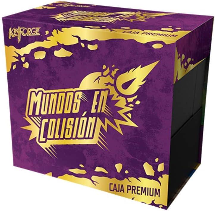Fantasy Flight Games- Keyforge - Caja premium: Mundos en Colisión, Color (KF08ES) , color/modelo surtido: Amazon.es: Juguetes y juegos