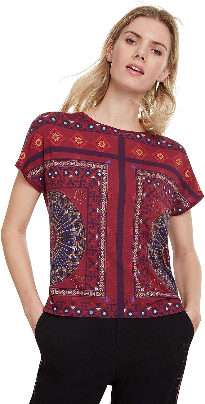 Desigual T-Shirt Larisa Camiseta para Mujer