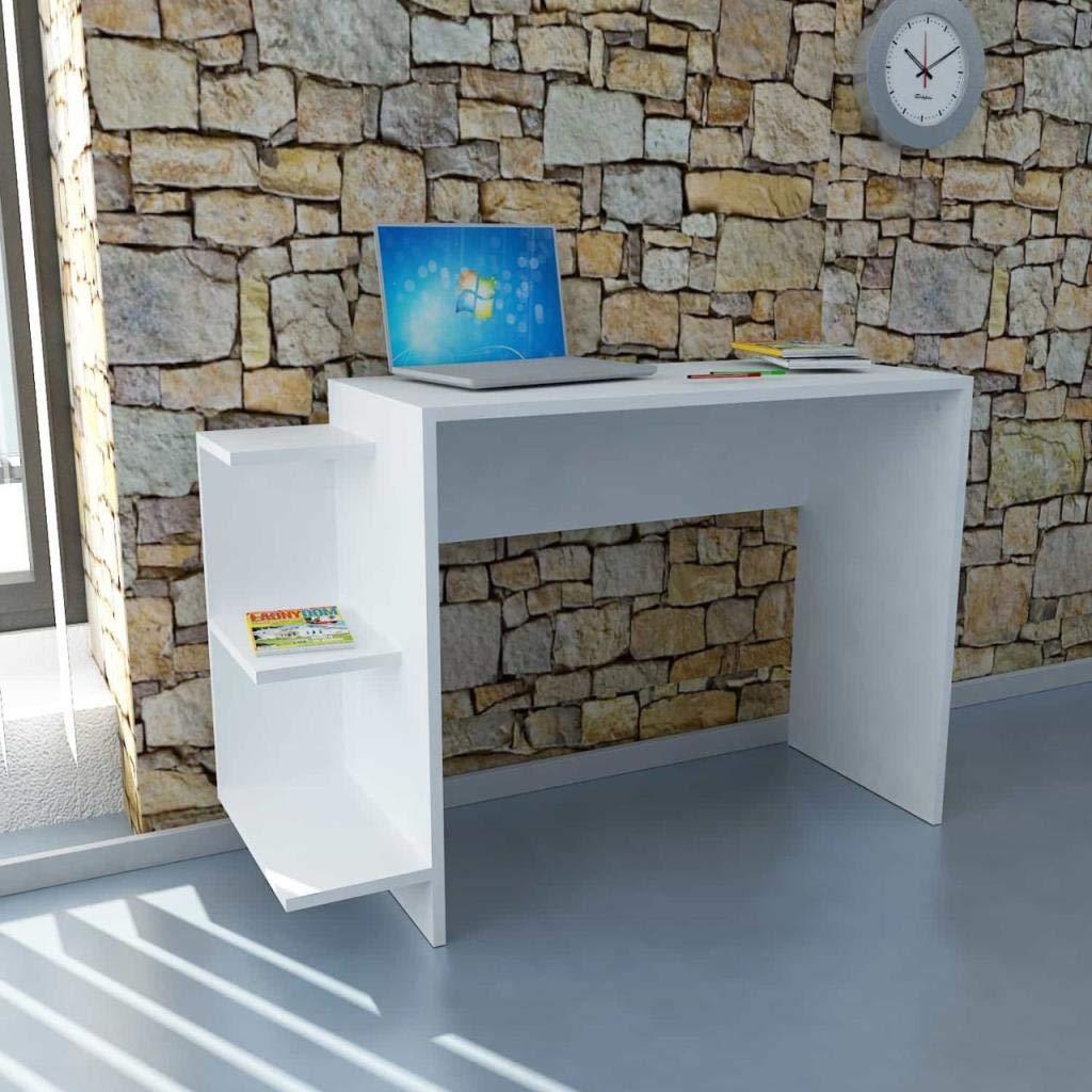 Alphamoebel 1315 Schreibtisch, weiß, 40 x 104,5 x 78,3 cm