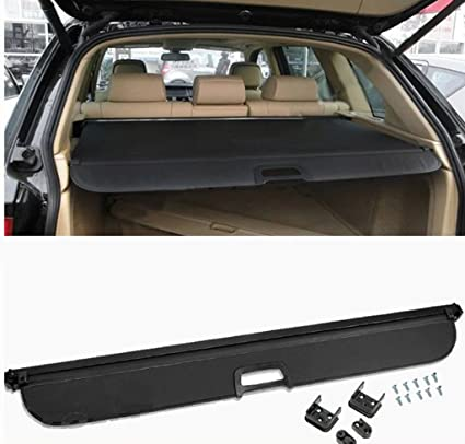 Black Cargo Cover Rear The Trunk Luggage Security Shade For BMW X5 E70 2008-2013