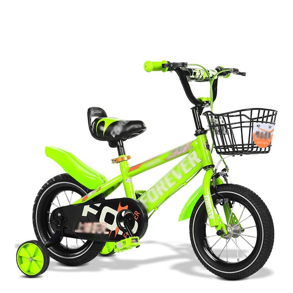子供用自転車子供用自転車2歳から11歳12 14 16 18 20インチブルーレッドイエロー調節可能な折りたたみ式 B07DV5FRYP 12 inch|イエロー いえろ゜ イエロー いえろ゜ 12 inch