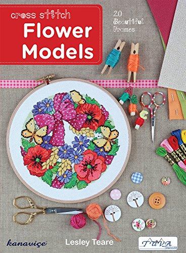 Flowers Cross Chart Stitch - Cross Stitch Flower Models: 20 Beautiful Frames