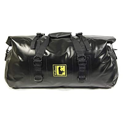 Wolfman Expedition Dry Duffel Bag Large Black EX805