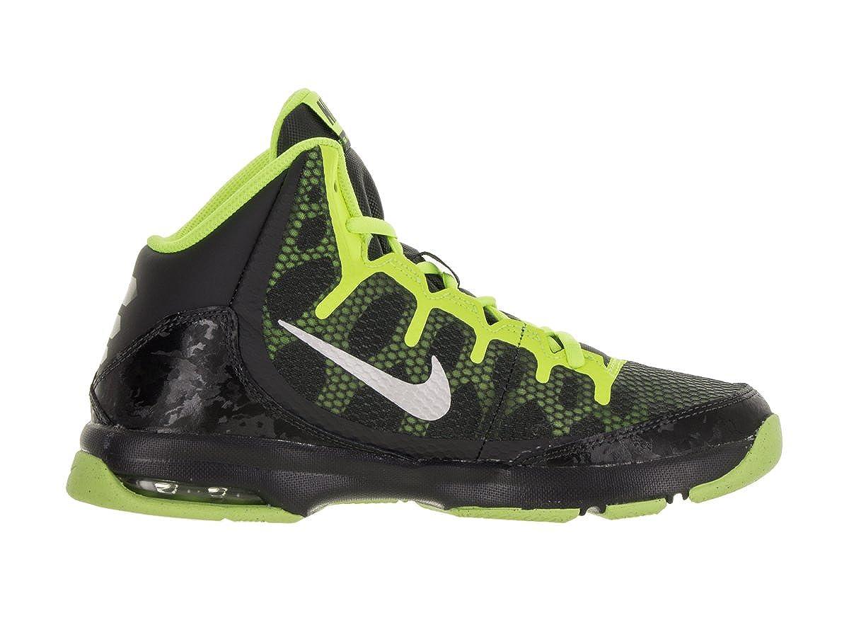 Nike Bambini Air Senza Dubbio (GS) Scarpe da Basket, Nero
