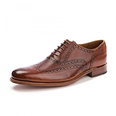 Grenson Fred Mens Tan Brogue Tan UK10 EU44 US11 EeTSafAU5L