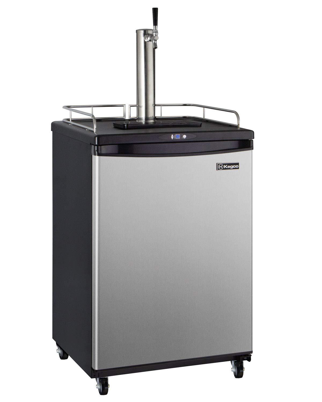 Kegco Z163S-1 Keg Dispenser, Single Faucet, Stainless Steel by Kegco