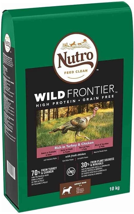 Nutro Wild Frontier Adulto Pollo y Pavo 10KG …: Amazon.es: Productos para mascotas