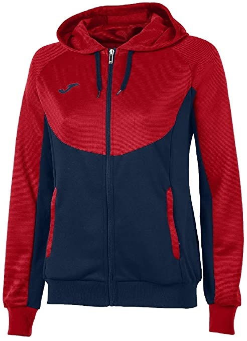 42580d167bc Amazon.com : Joma Sweatshirt Essential Woman 900699 Navy-RED Fashion ...